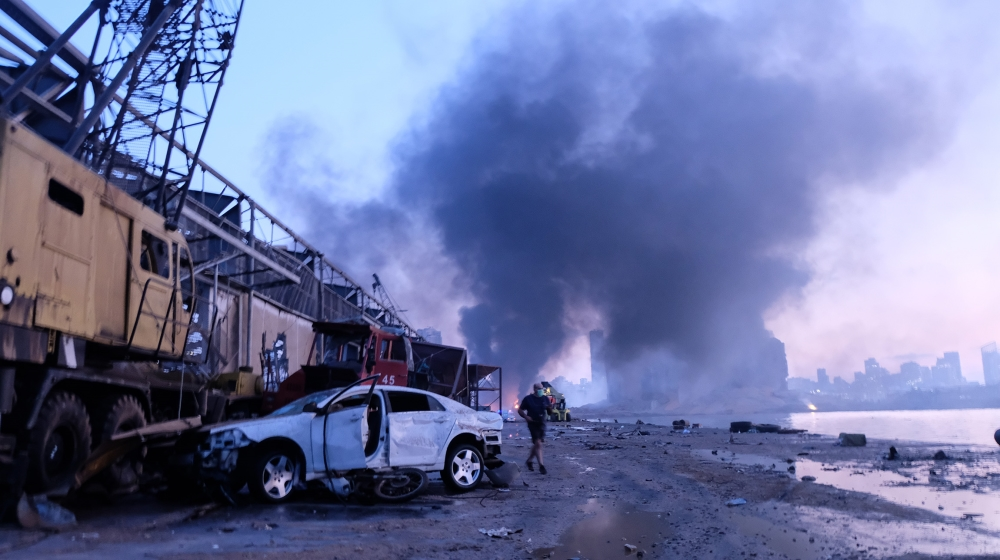 Lebanon's capital Beirut shaken by massive explosion [Timour Azhari/Al Jazeera]