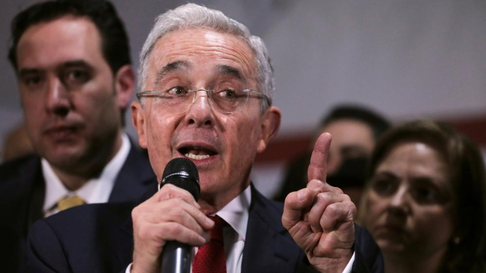 Colombia top court places ex-President Uribe under house arrest - aljazeera