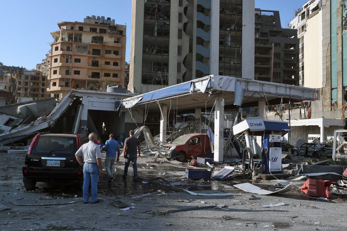 Libani tashmë po tërhiqet nga një krizë ekonomike që ka lënë më shumë se gjysmën e popullsisë së saj në varfëri.  Situata është përkeqësuar në muajt e fundit nga pandemia koronavirus.  [Bilal Huseini / Fotografia e AP]