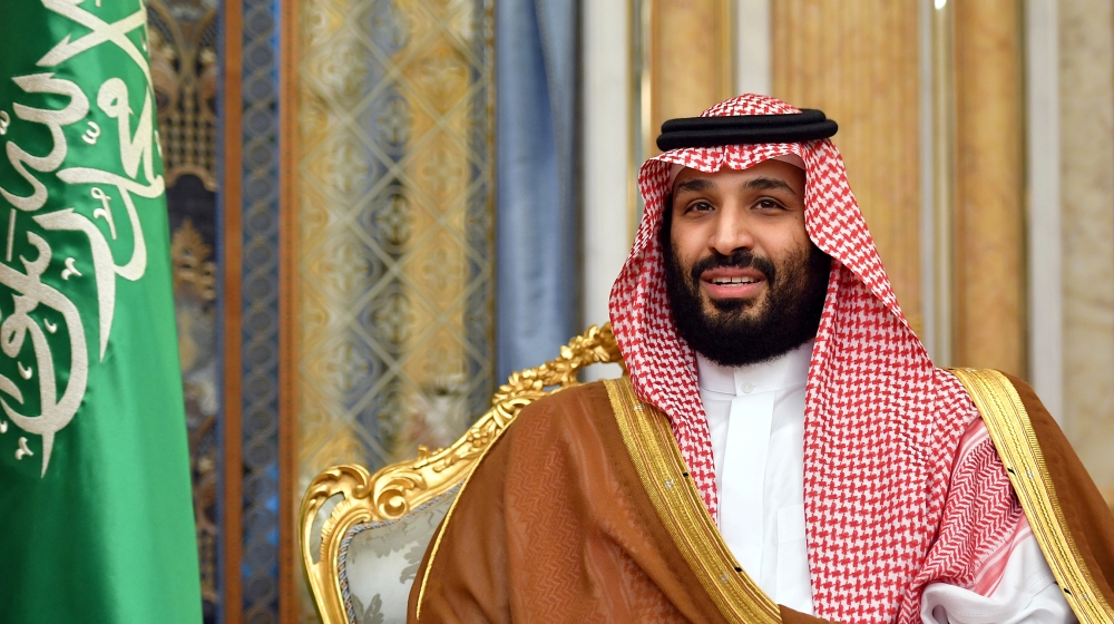 Saudi Arabia's Crown Prince Mohammed bin Salman attends a meeting with U.S. Secretary of State Mike Pompeo in Jeddah, Saudi Arabia, September 18, 2019. Mandel Ngan/Pool via REUTERS