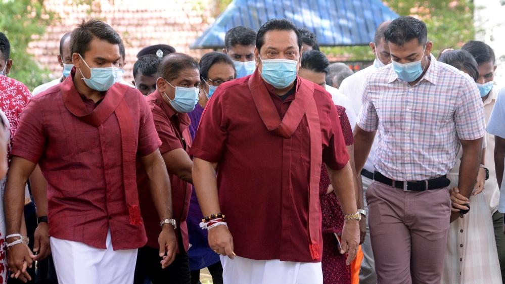 Leader of SLPP and PM Mahinda Rajapaksa