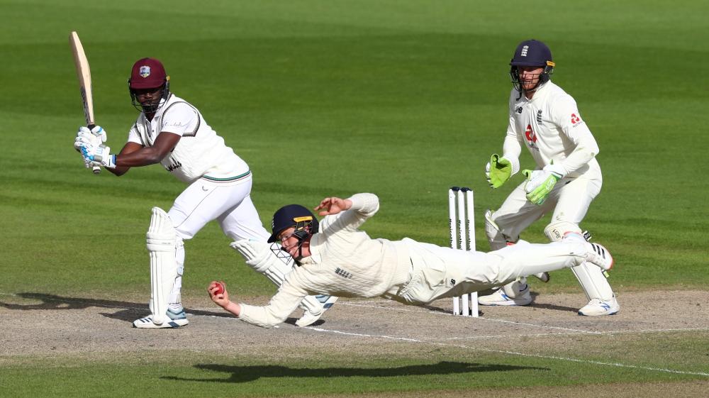 Second Test - England v West Indies