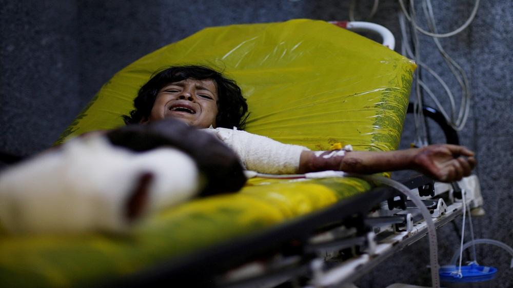 UN: At least nine children killed by air raids in northern Yemen