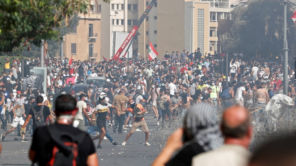 protests called for in central Beirut days after devastating explosion 3
