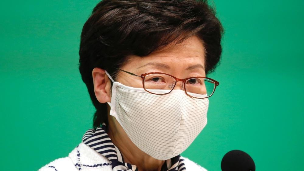 Beijing's top office in Hong Kong slams 'ridiculous' US sanctions thumbnail
