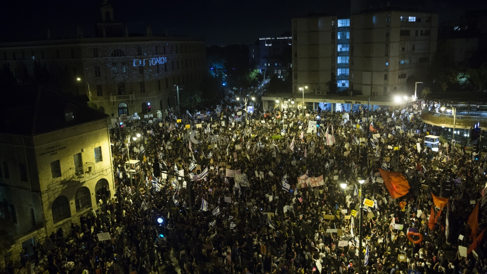 Anti-Netanyahu Protests Continue, Fueled By Coronavirus And Corruption