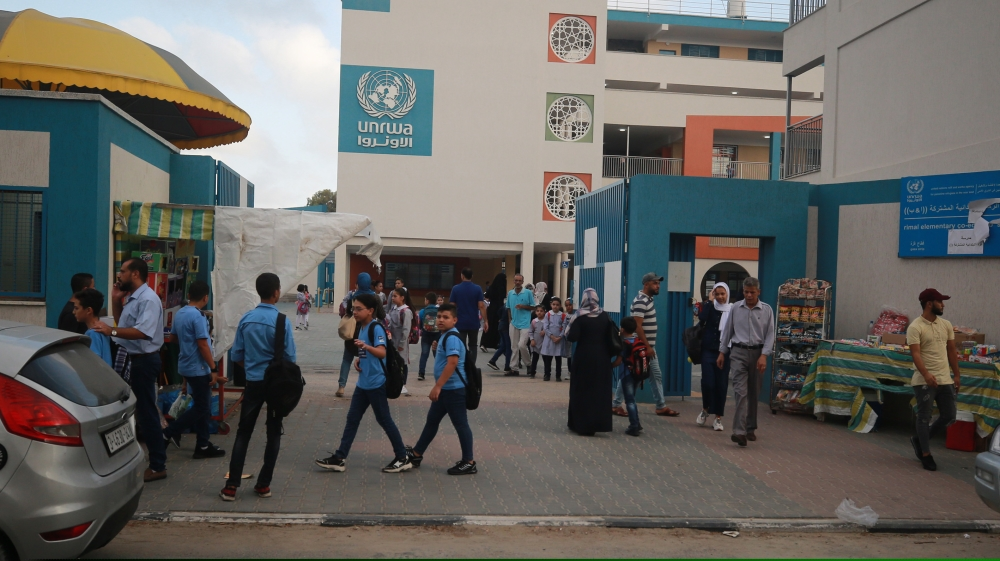Gazan students back to school after COVID 19 break