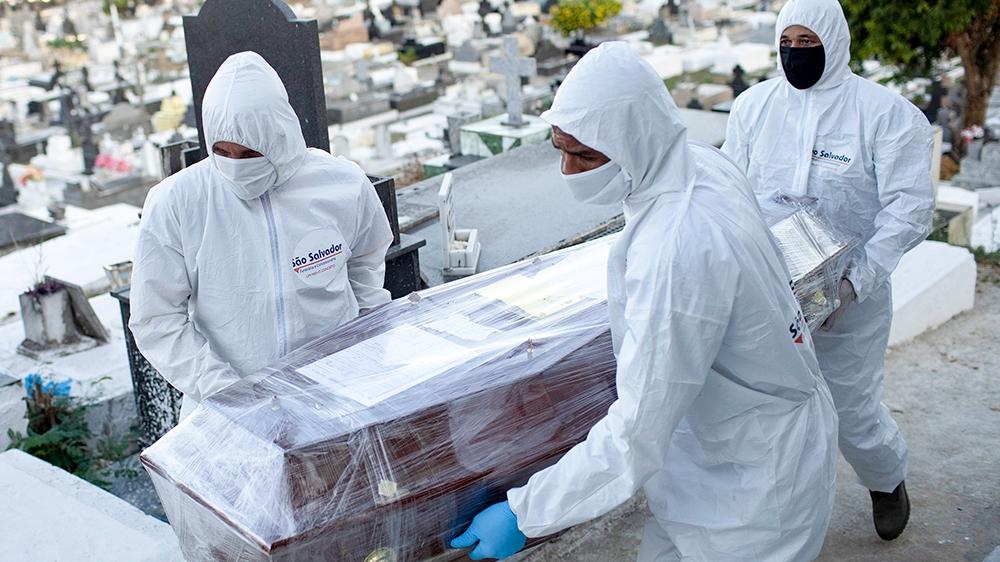 US coronavirus cases hit 5 million; 100000 dead in Brazil: Live – Al Jazeera English