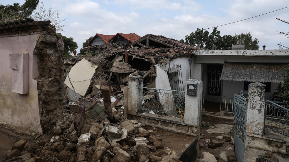 5 dead, including baby, as storm hits Greek island