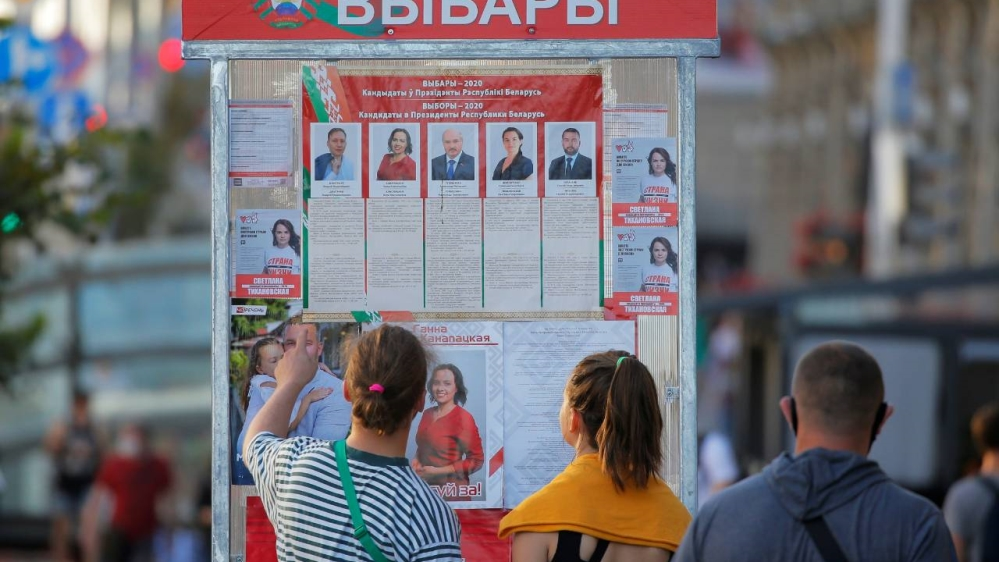 Belarus heads to polls as protests rattle Lukashenko thumbnail