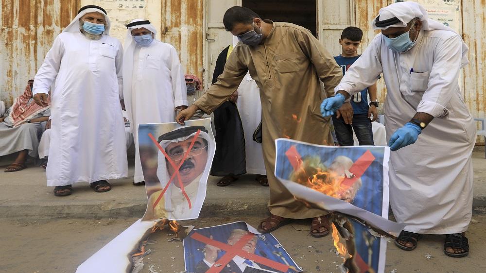 Palestinians rally against Bahrain-Israel normalisation – Al Jazeera English