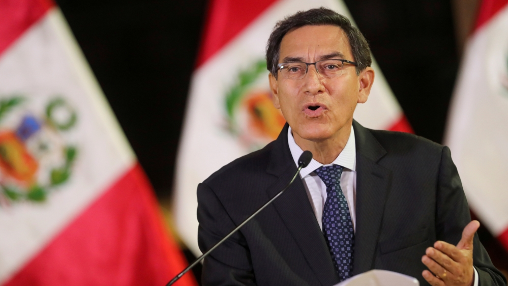 Peru's Martin Vizcarra faces impeachment for 'moral incapacity'