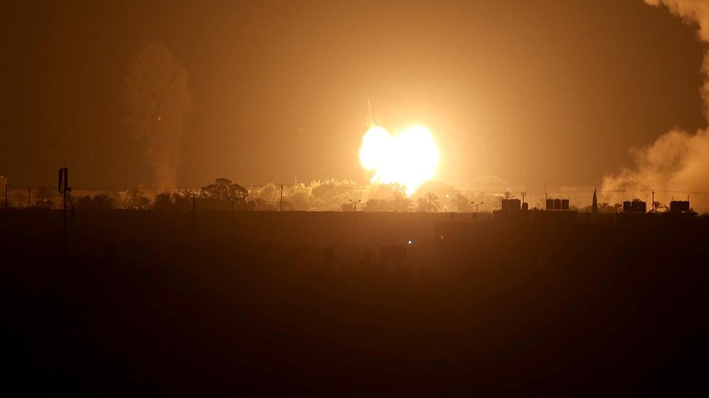 Israel bombs Gaza after rocket fire follows UAE, Bahrain deals thumbnail