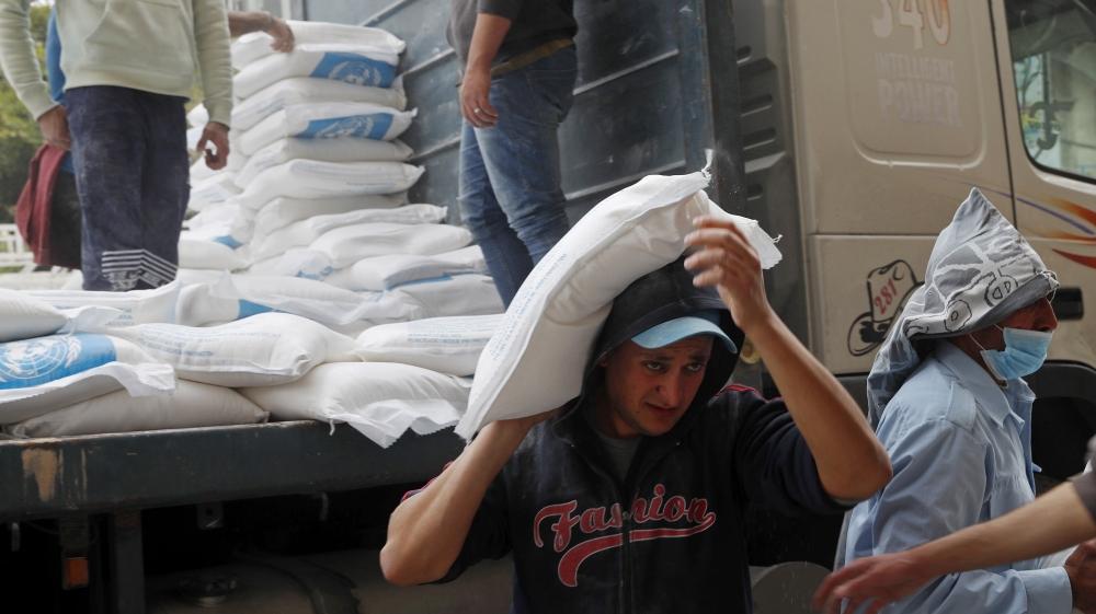 palestine UNRWA Gaza