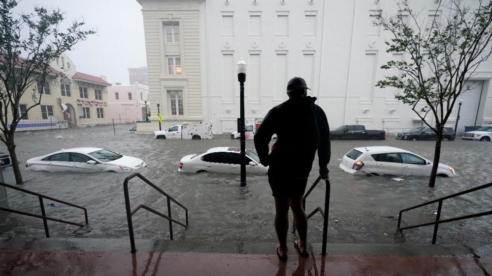 Hurricane Sally US Pensacola Florida