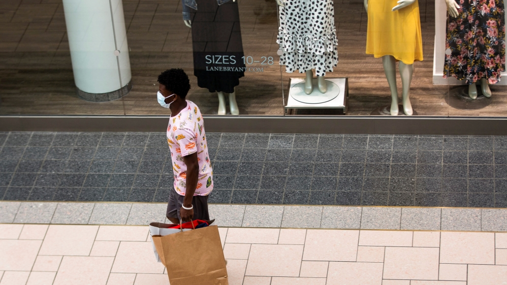 Man in mall