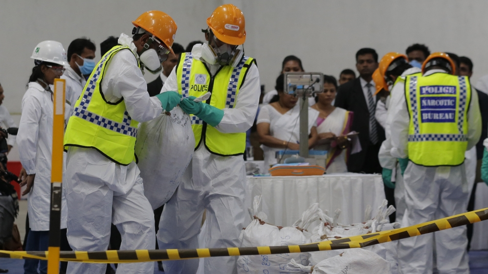 Sri Lanka drug ring 3