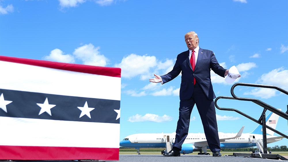 Trump in Mankato, Minnesota
