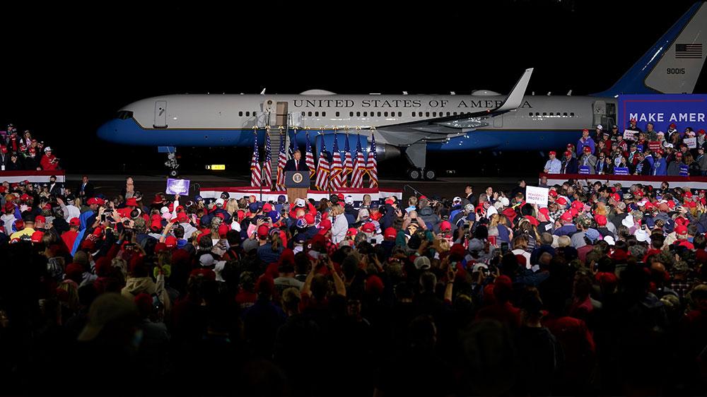 Trump Mosinee, Wisconsin rally