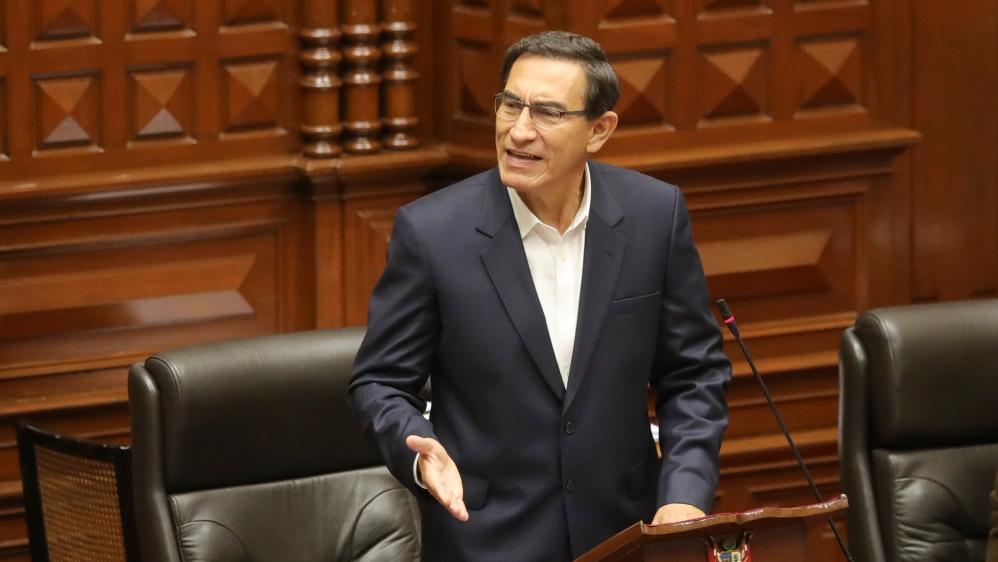 Peru's President Martin Vizcarra survives impeachment vote