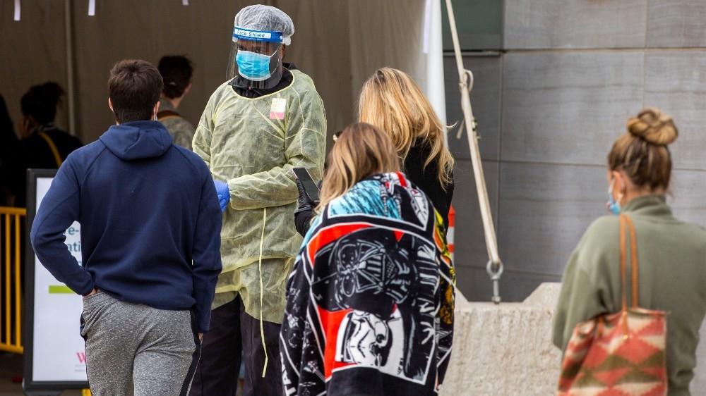 Canada Toronto COVID-19 coronavirus testing