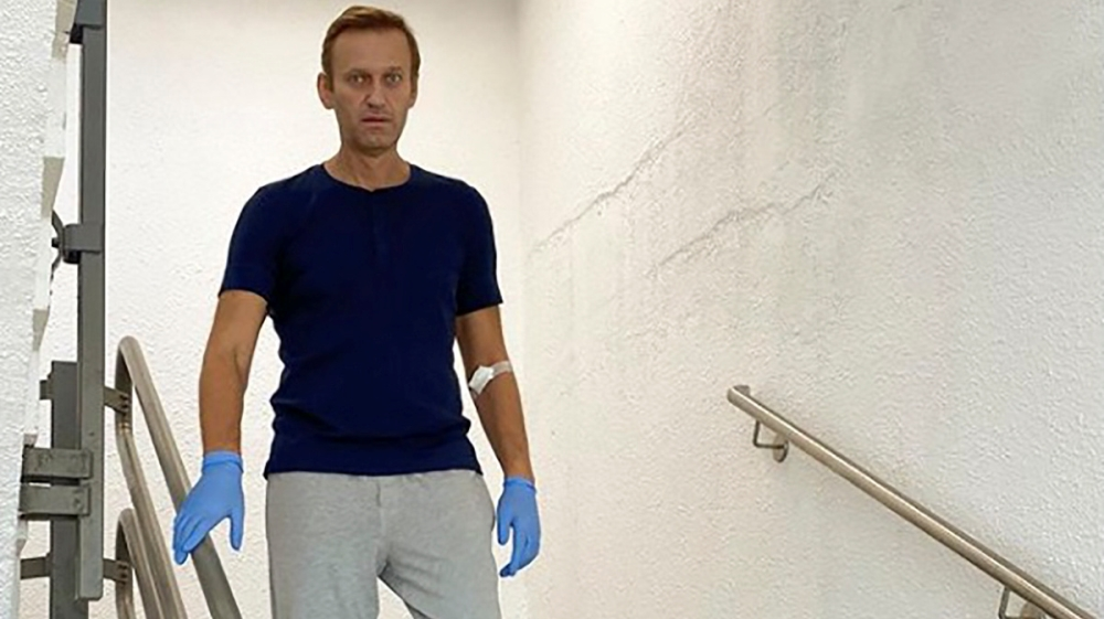 Navalny demands Russia return clothes worn during 'attack'