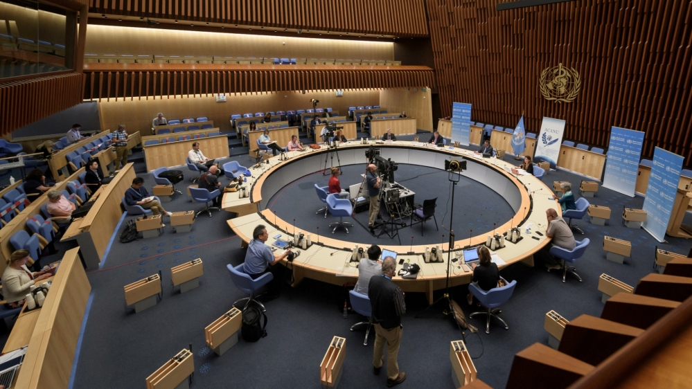 World Health Organization in Geneva