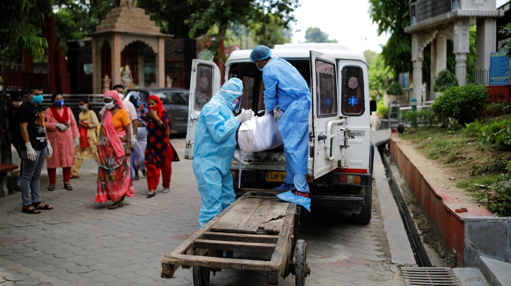 India reports about 80,000 coronavirus cases in a day: Live news thumbnail