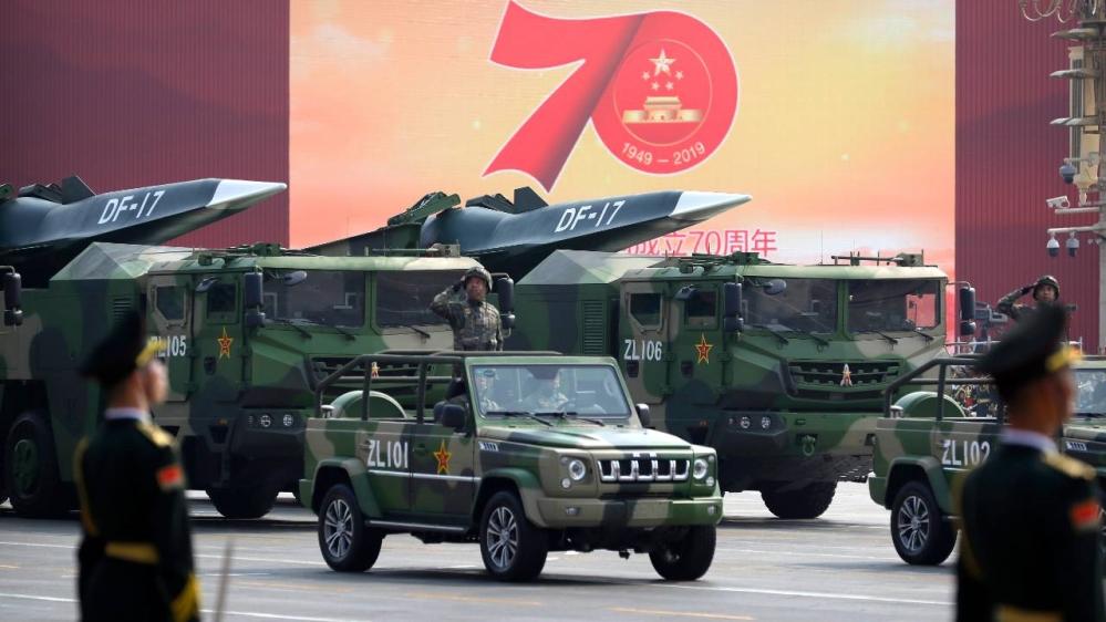 China - misil balístico