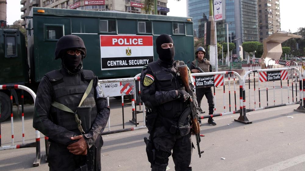 Anti-gov't protests in Egypt's Giza amid tight security presence