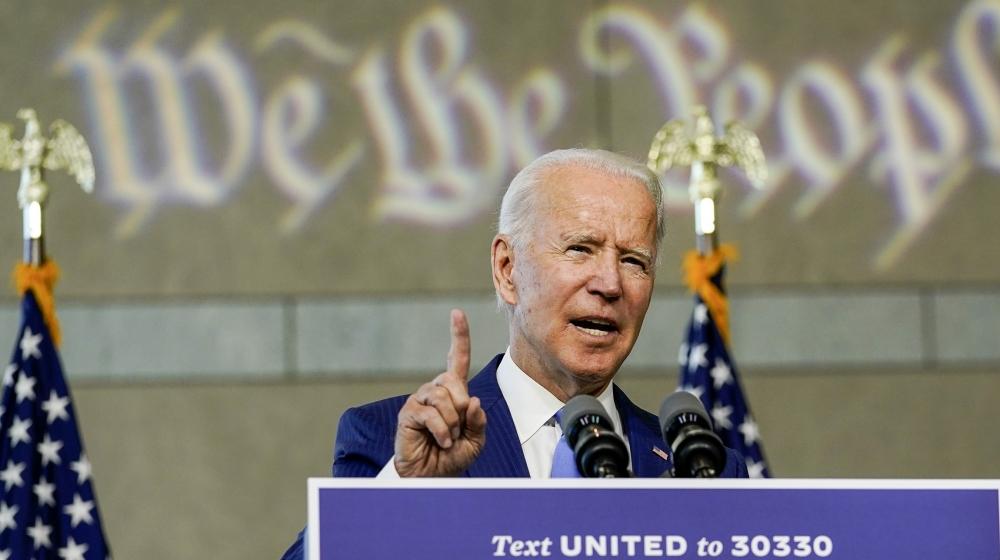 Biden blasts Trump's plan for Supreme Court vacancy