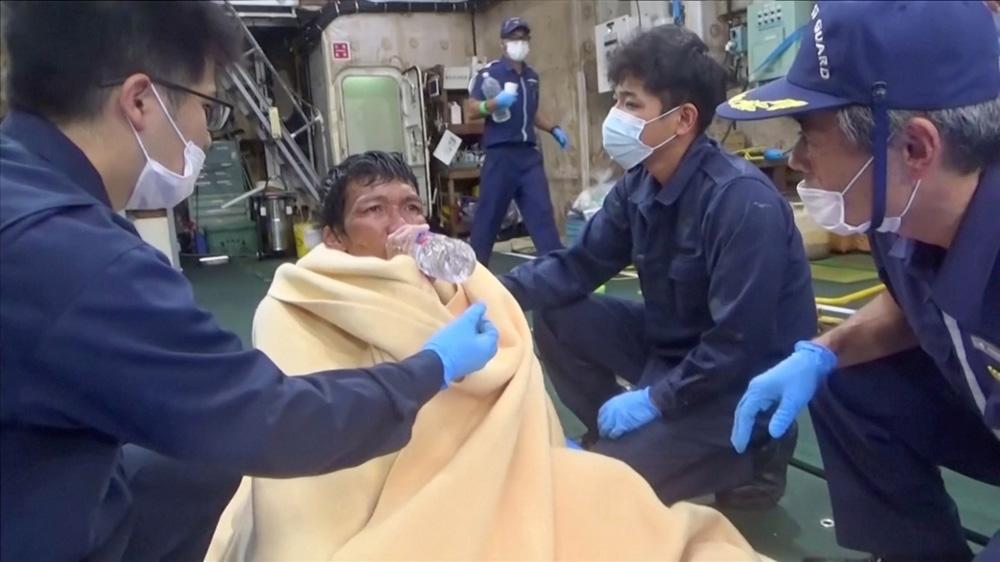 Japan ship survivor