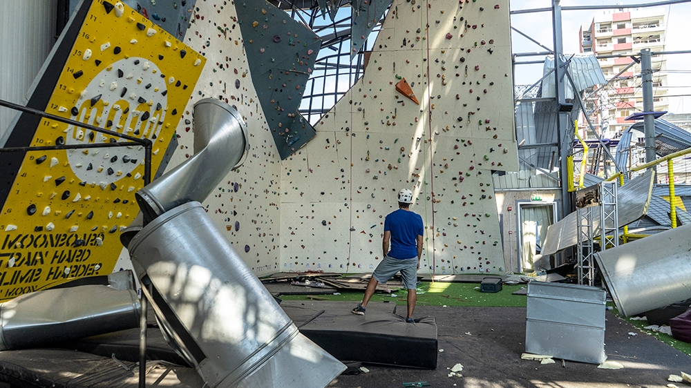 Saving Beirut's destroyed climbing wall