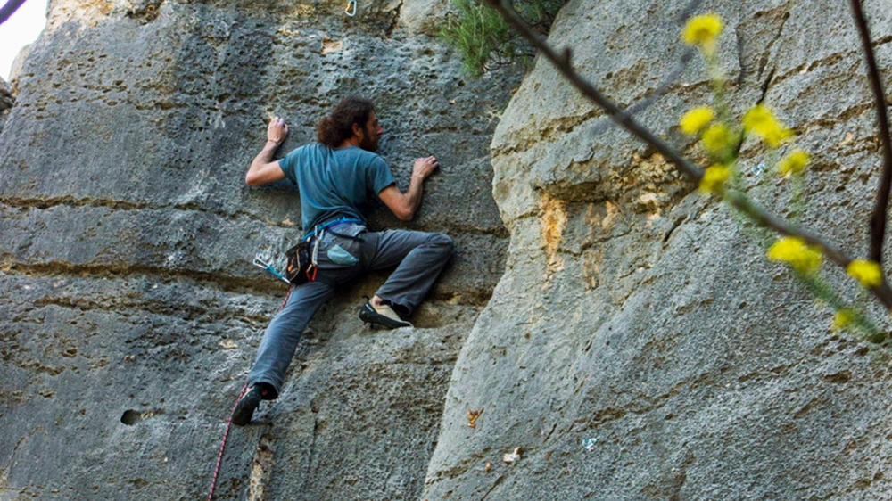 Jad Khoury is among a group of original climbers that put Lebanon on the international climbing map [Al Jazeera]