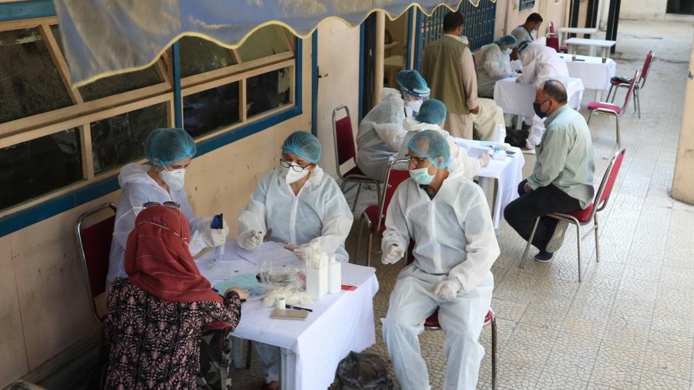 Syria - coronavirus