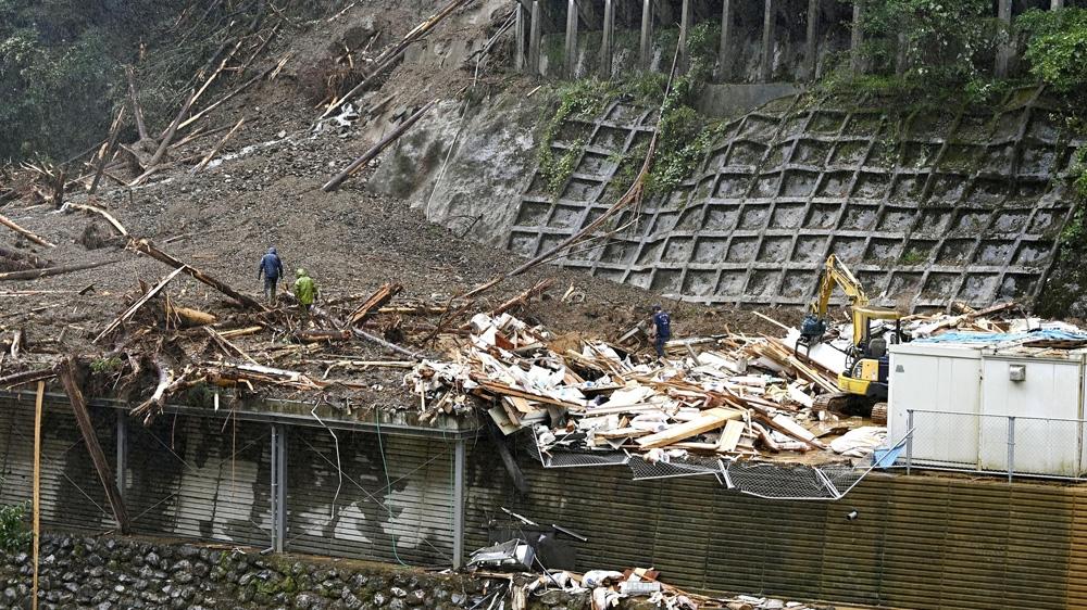 Typhoon Haishen Japan