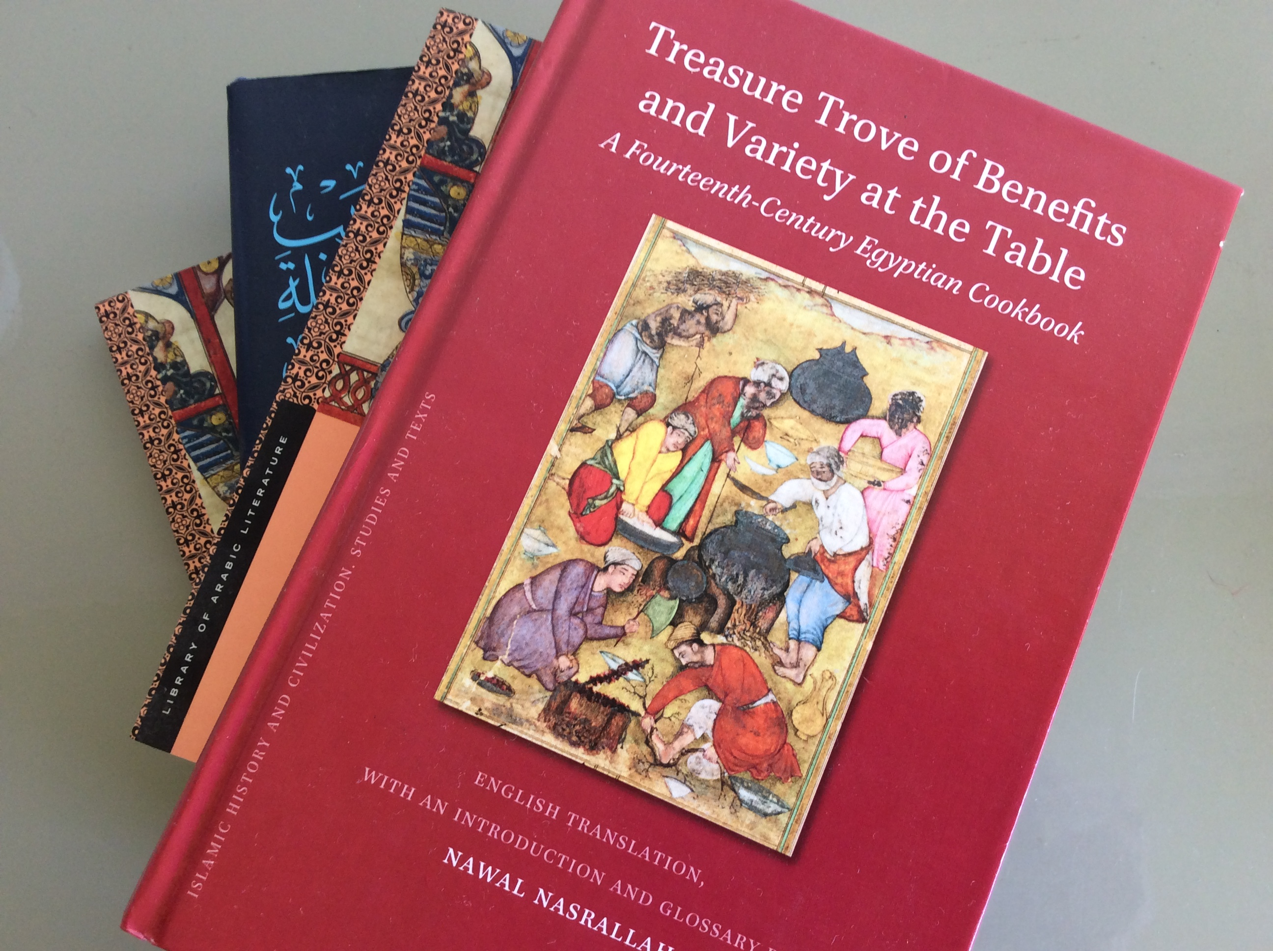 Buku masak Arab Abad Pertengahan [Marcia Lynx Qualey]