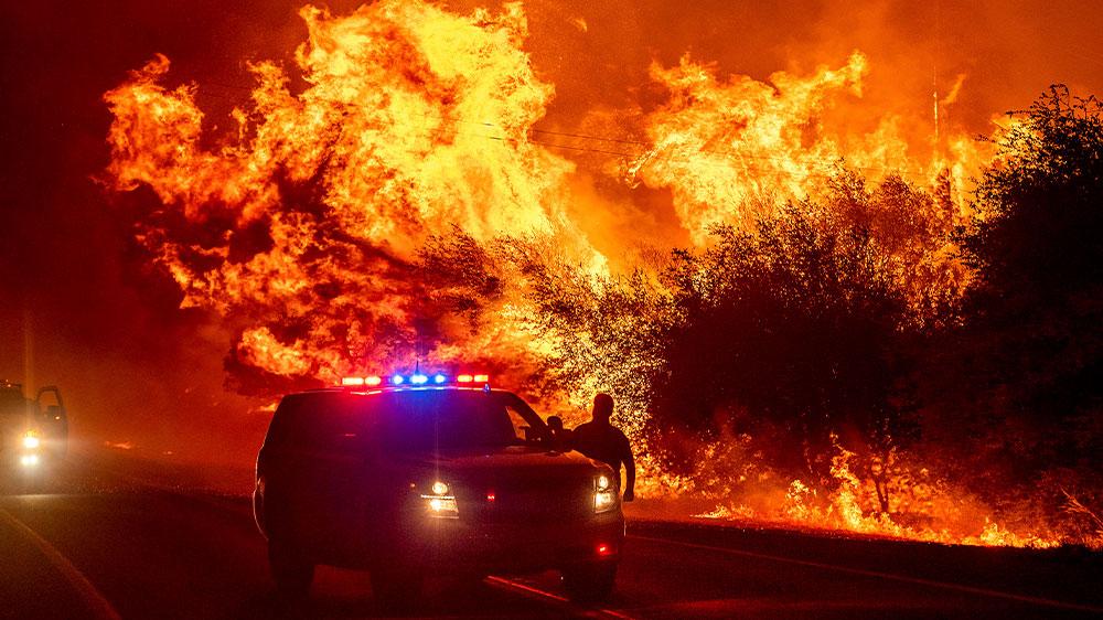 Incendio forestal de California