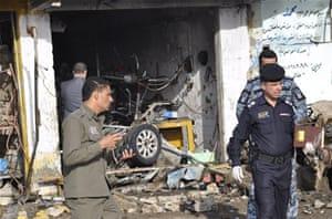 Many dead in serial blasts in Iraq - Al Jazeera English