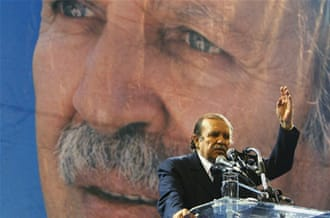 Bouteflika was elected to a third term as president of Algeria in 2009 [GALLO/GETTY]