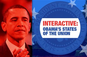 Comparing Obama's States of the Union