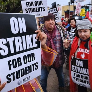LA teachers strike for 'practically same reasons' as 29 years ago