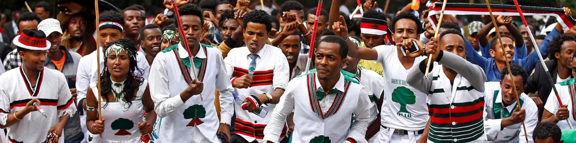 Anti-government protests erupted in Ethiopia in November [Reuters]