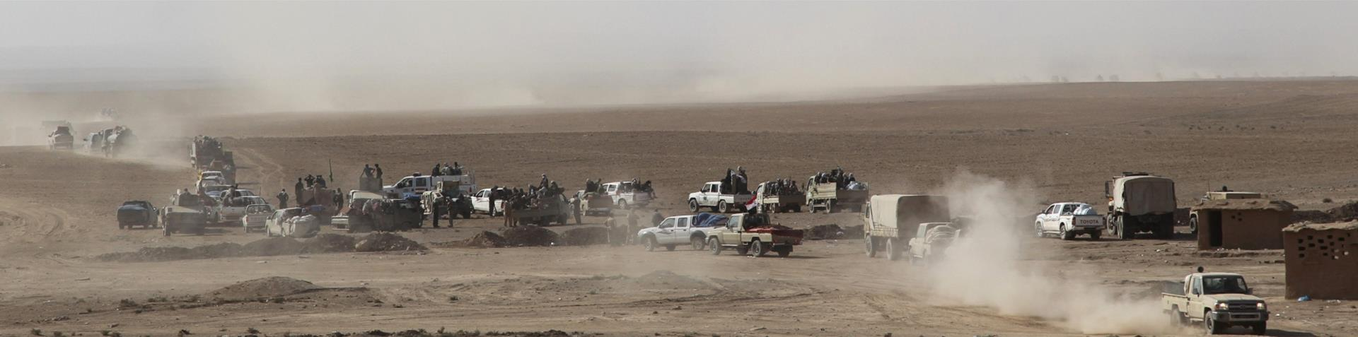 Iraqi troops focus on neighbourhoods along the Tigris River, as the offensive nears its third week [Reuters]