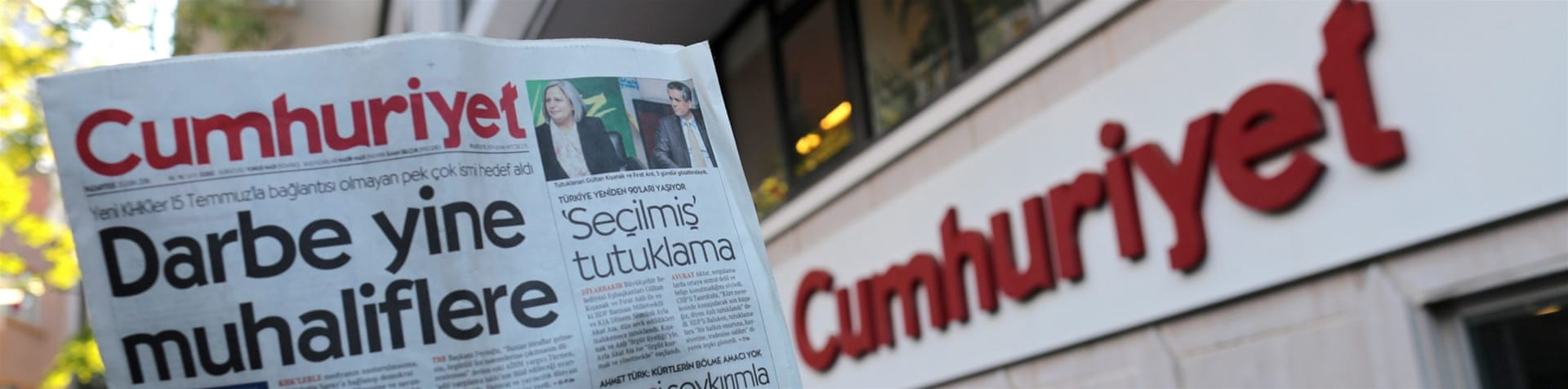 Cumhuriyet is known for its vigorously independent reporting [EPA]