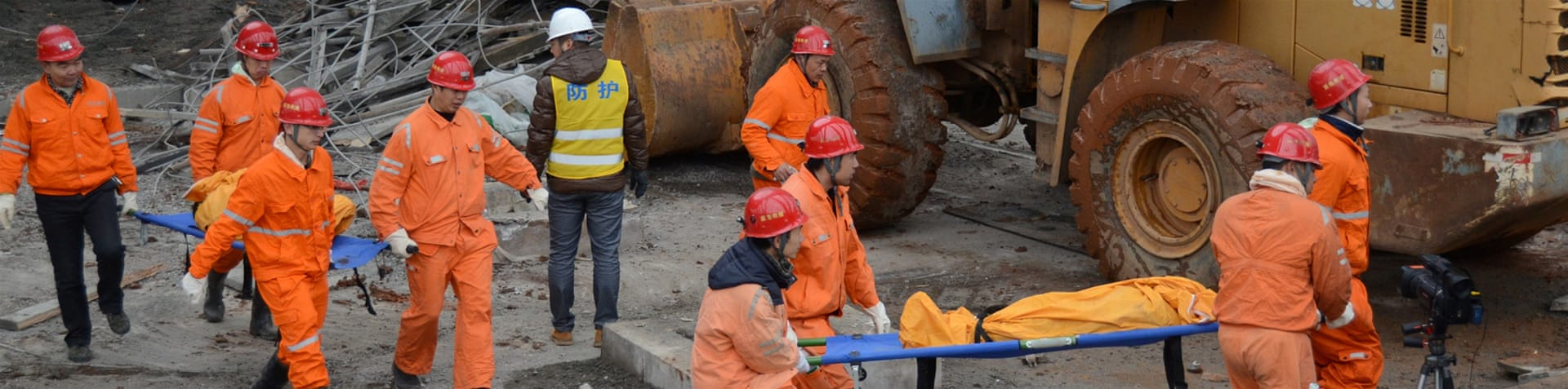 The enforcement of industrial safety standards is often lax in China [Reuters]