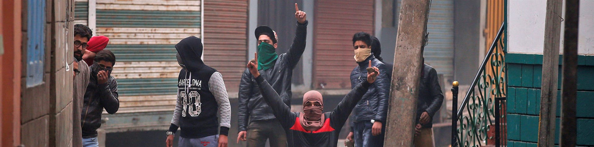 Kashmir is experiencing its largest protests against Indian rule in recent years [AP]