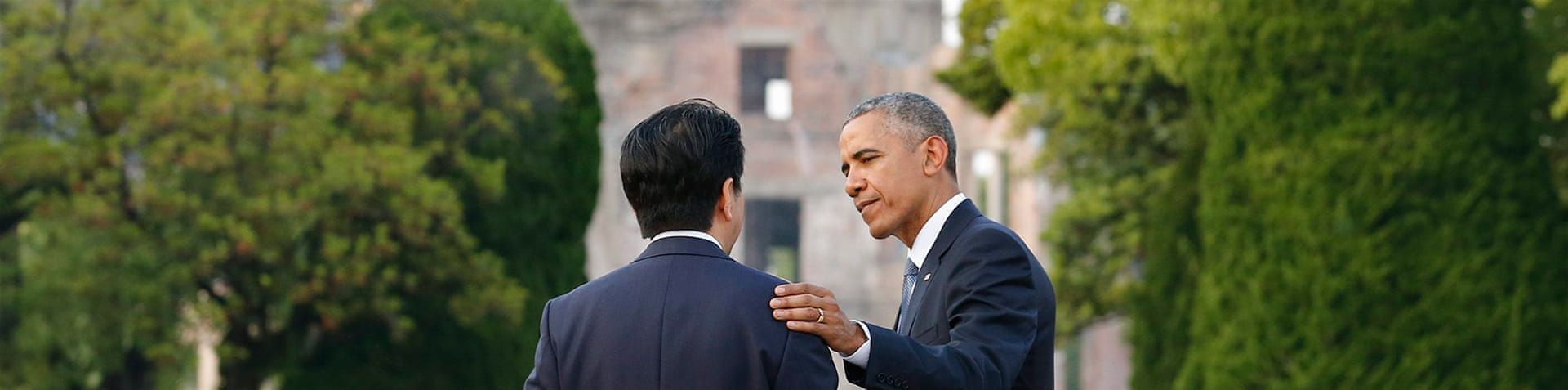 Obama is the first sitting US president to visit Hiroshima after the 1945 bombing [AP]
