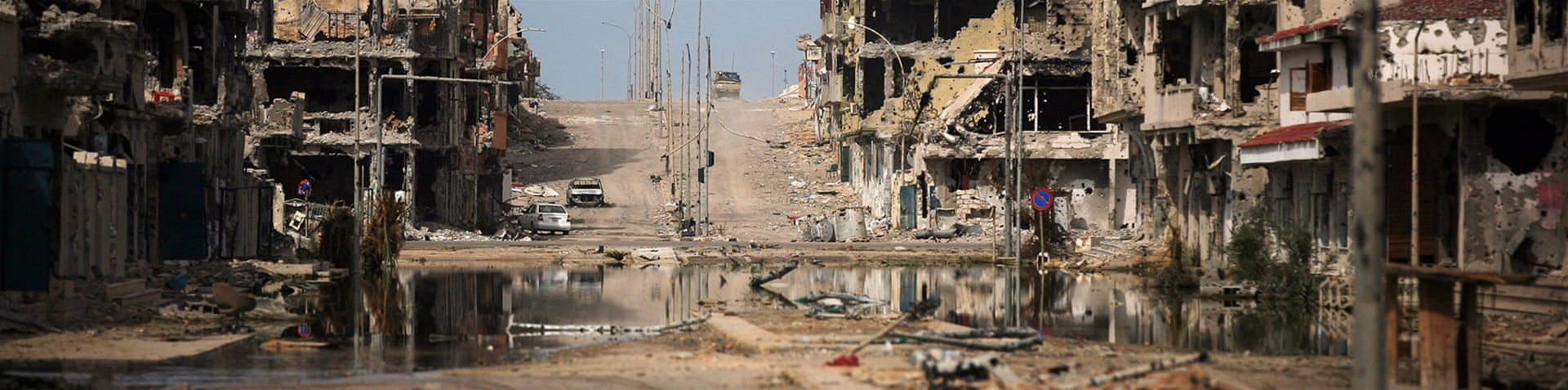 Fighting between ISIL and other armed groups has destroyed the Libyan city of Sirte [AP]