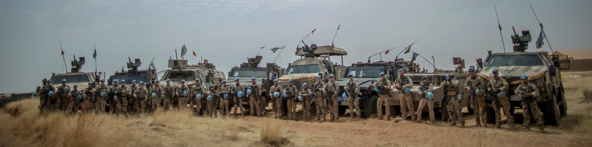 Mali is said to be the most dangerous active deployment for UN troops [Michael Kappeler/EPA]